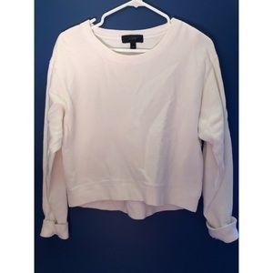 White J. CREW sweatshirt